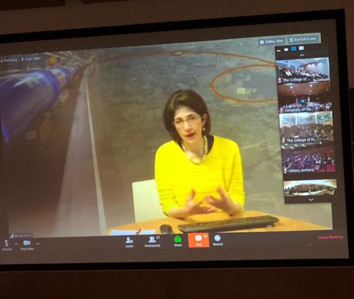 Dr. Fabiola Gianotti, Director of CERN
